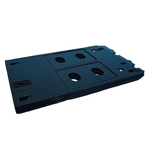 HONGIRT Plateau de Cartes Professionnel en PVC Plateau d'impression en Plastique pour l'imprimante de série Canon Type B IP7250 ip7240 ip7120 ip7130 (Couleur: Noir)
