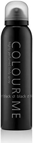 Colour Me Black - Fragrance for Men - 150ml Body Spray, by Milton-Lloyd