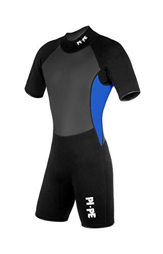 PI-PE Herren Neoprenanzug Pro II Spring Short Sleeve Blue, XXL