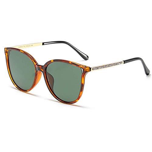Cat Eye Oversized Fashion Polarized Women 'S Sonnenbrille Retro Color Lens Sonnenbrille 100% UV-Schutz