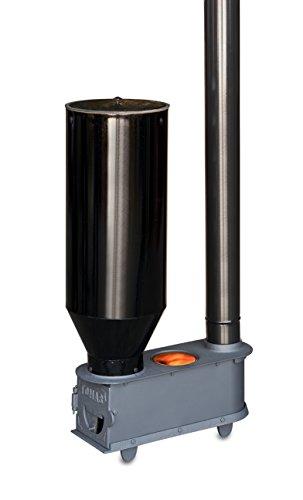 Estufa de biomasa orujo compatible con pellets