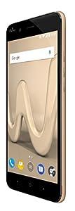 Wiko HARRY GOLD LS Smartphone débloqué 4G (Ecran : 5 pouces - 16 Go - Micro-SIM - Android) Orange