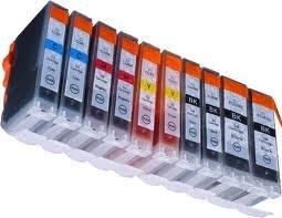 ean code drucker 10 kompatible Druckerpatronen für Canon IP4850 IP4950 MG5150 MG5250 MG5350 MG6150 MG6250 PGI-525,CLI-526BK,CLI-526C,CLI-526M,CLI-526Y