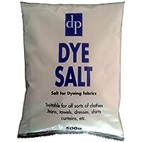 1 x DYE SALT 500g Dri Pak Dye tela de sal para teñir ropa cortinas Jeans