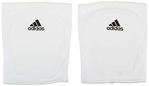 adidas Youth 5-Inch Knee Pads, White, Large
