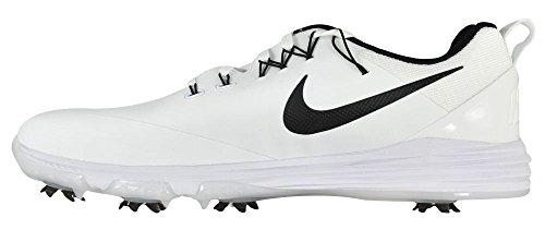 Nike Lunar Command 2 Chaussures De Sport, Hommes Blancs