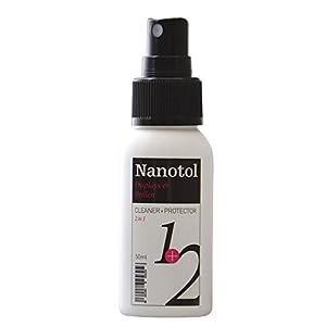 Nanotol Displays + Brillen-Reiniger 2in1 Cleaner+Protector – Reinigung & Nanoversiegelung für Brillen, Smartphone, Monitor, TV, Tablet uvm.
