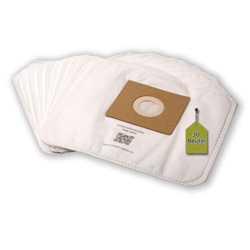 eVendix Staubsaugerbeutel passend für Clean Maxx KPA09E-9 | 30 Staubbeutel + 3 Mikro-Filter | optimale Filterleistung | Top-Qualität