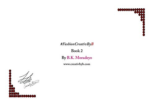#FashionCreativByB Book 2 (#FashionCreativByB series) (English Edition) Bk Fashion