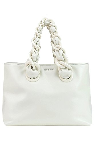 Miu-Miu-Womens-MCGLBRE03036E-White-Leather-Handbag