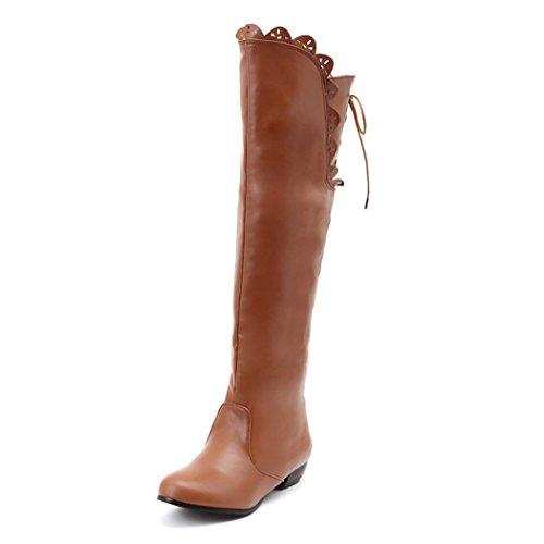ZQ@QXL'Europe et de l'United States Code avec des low boots chaussures bottes hautes bottes manchon creux