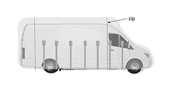 Premium Atmungsaktive schutzh/ülle f/ür Kastenwagen 7,0 m L/änge max.