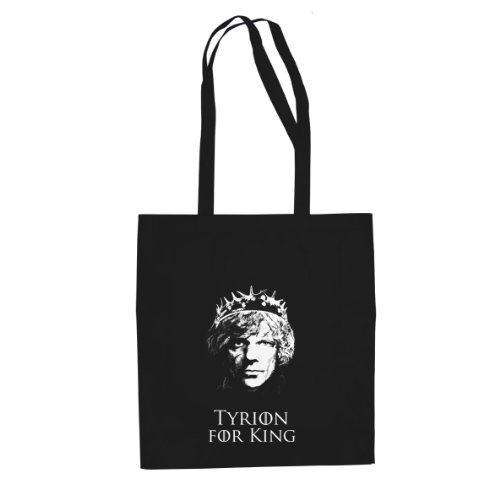 GoT: Tyrion for King - Stofftasche/Beutel, Farbe: