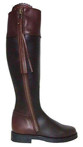 BOTOSVALVERDE, Damen Stiefel & Stiefeletten marrón