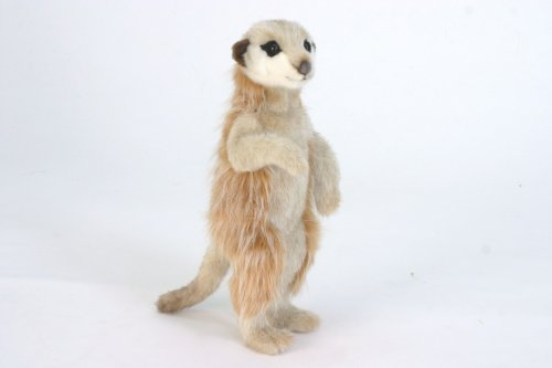 Image of Plush Soft Toy Meerkat by Hansa. 33cm 5326