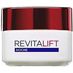 L'Oreal Paris Dermo Expertise Crema Noche Antiarrugas Revitalift, con Pro-Retinol - 50 ml