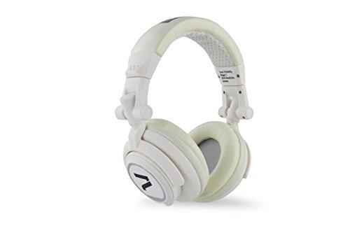 7even® Headphone black / Dj Kopfhörer, dreh-klappbar, abnehmbares Kabel, Rubber-Finish
