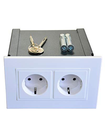 Gravitis Secreto caja fuerte de pared - Almacenamiento seguro para sus objetos...