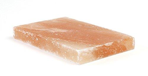 Homankit Grill Salzplanke Salzfliese Salzziegel 20 x 10 x 2.5 cm,1er Pack