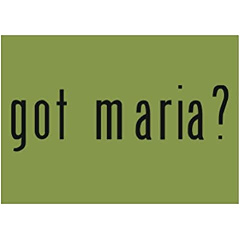 Teeburon Got Maria? Pack de 4 Pegatinas