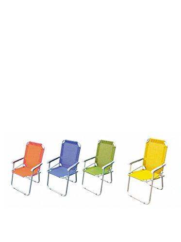 Galileo casa relax sedia pieghevole, multicolore, 54 x 47 x 75 cm