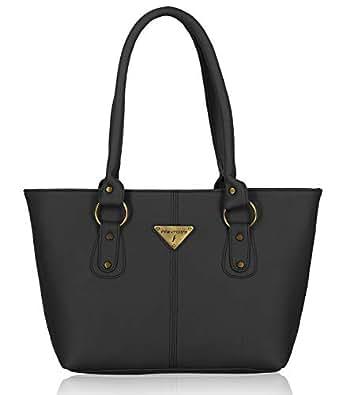 Fantosy Women Pu Black Handbag Fnb-193_144