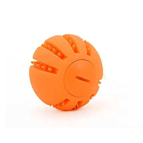 LaRoo Leuchtendes LED Hundeball Leuchtball mit USB Wiederaufladbarem Glühen in der Dunkelheit Hund Ball Hund Training Kugel für Hunde Spielen (zufällige Farbe, 1 Stück)