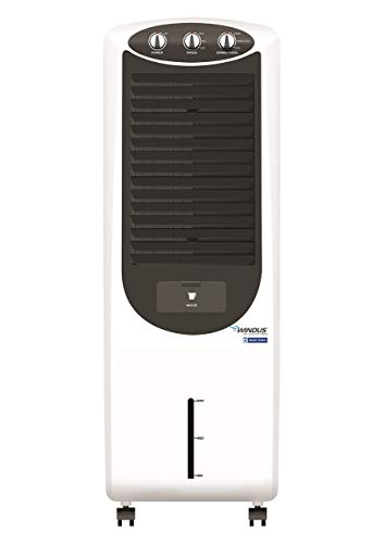 (Renewed) Blue Star BS-AR25PA 25-Litre Air Cooler (White/Dark Grey)