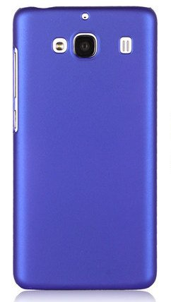 WOW Imagine(TM) Rubberised Matte Hard Case Back Cover For XIAOMI MI REDMI 2 / REDMI 2 PRIME (Purple)