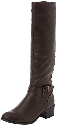 Joe Browns Sensational Lace Back Boots, Bottes d'équitation femme Marron