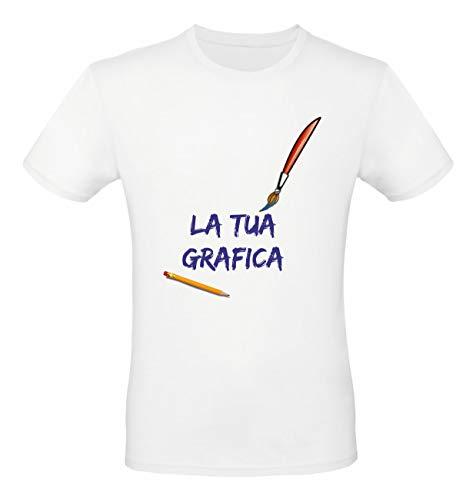 Social crazy 10 t-shirt magliette maglie personalizzate in serigrafia ad altissima qualità ideali per aziende ditte negozi alberghi staff personale (a scelta)