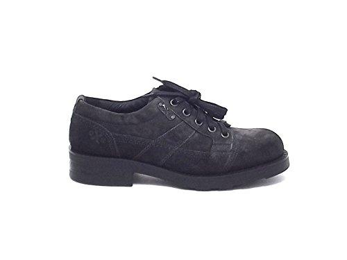 Oxs uomo, 2010, scarpa camoscio grigio nr 44 A6102