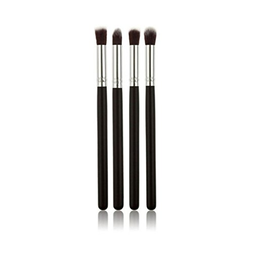 Generic Eyeshadow Blending Pencil Brush, Set of 4, Black