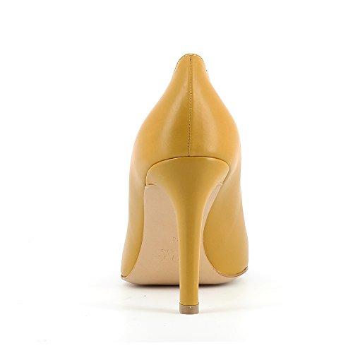 Evita Shoes Ilaria, Scarpe col tacco donna Ocra