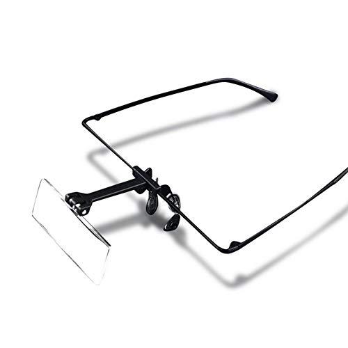 Fangfang GAO magnifier Headhand-Lupenbrille 1.5X 2.5X 3.5X HD Objektiv Vergrößern Brillen, Uhrmacher Lesebrille für Textilhandarbeiten