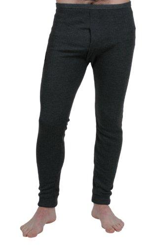Herren Thermounterwäsche, lange Unterhosen, Interlock, 4er-Pack, verschiedene Farben & Größen Denim