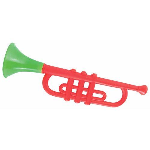 P'tit Clown 78700 Trompette en Plastique - 33 cm - Multicolore