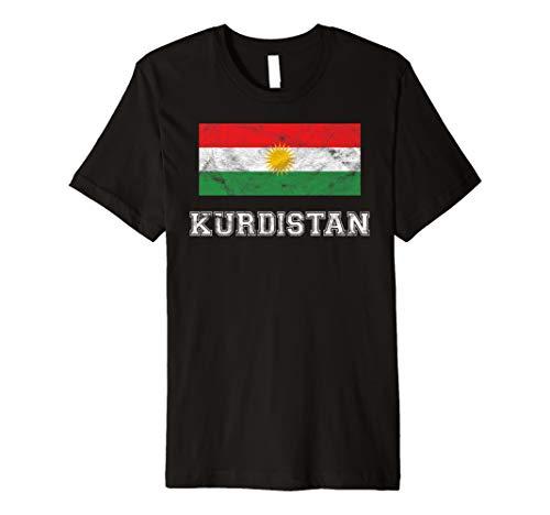 Kurdistan Flagge I Her Biji Männer Frauen Kinder T-Shirt