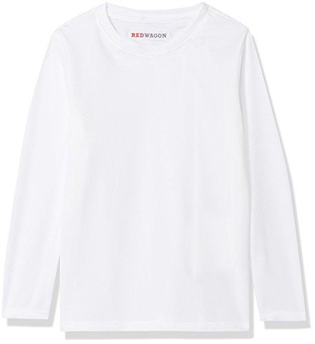 RED WAGON Jungen Atmungsaktives Sport Sweatshirt, Weiß (White), 128 (Herstellergröße: 8 Jahre) (Pullover Kinder Weiße)