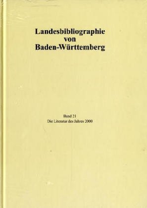 Landesbibliographie von Baden-Württemberg: BD 21