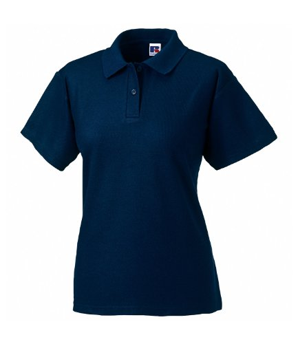 Russell Athletic - Polo -  Femme Bleu - French Navy