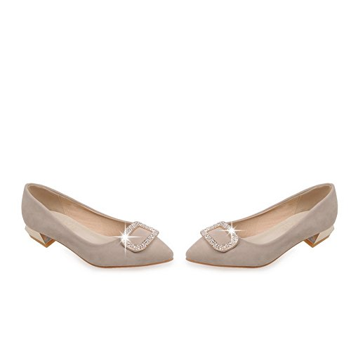 Adee Mädchen elegantes Polyurethan pumps-shoes Beige