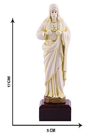 Herrn Jesus Idol Statuen Visitenkarte L Jesus Visitenkarte L Jesus Statue Christian religiöse 17cm x 5cm L von Affaires ideal Geschenk für Weihnachten & Home/Office Dekor g-471