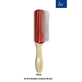 Air-Flo Rubber Cushion Styling Hair Brush (809-10) by FINE LINES