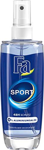 Fa Sport Zerstäuber Deodorant, 5er Pack (5 x 75 ml)