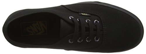 Vans Unisex-Erwachsene Authentic Sneakers Schwarz (Multi Eyelets cheetah/black)
