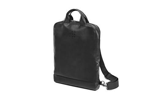 Moleskine (Gerätetasche, Vertikale Laptoptasche, PC-Rucksack für Laptop, Notebook, iPad, Computer bis 15.4\'\', Größe 29 x 39 x 6 cm) Schwarz
