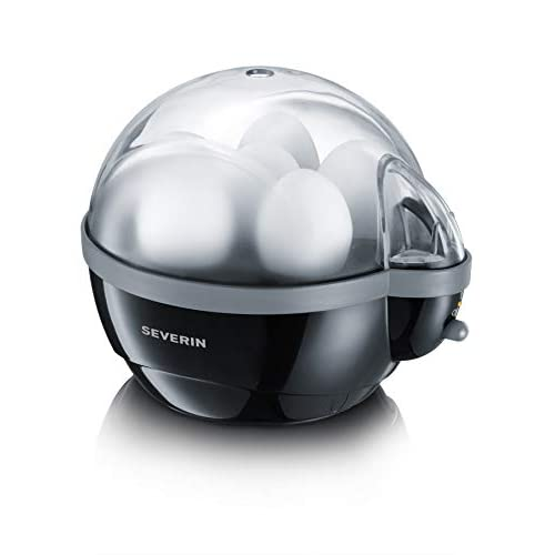 31VPDzgp%2B9L. SS500  - Severin Egg Boiler with 400 W of Power EK 3056, Plastic, Black-Grey