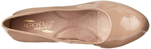 Aerosoles Shore Thing Large Cuir verni Talons Nude