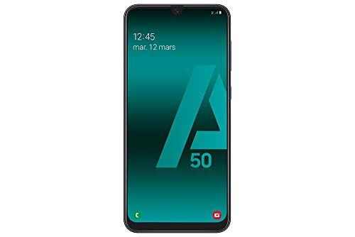 SAMSUNG Galaxy A50 - Smartphone Portable débloqué 4G (Ecran: 6,4 Pouces - 128 Go - Double Nano-SIM...